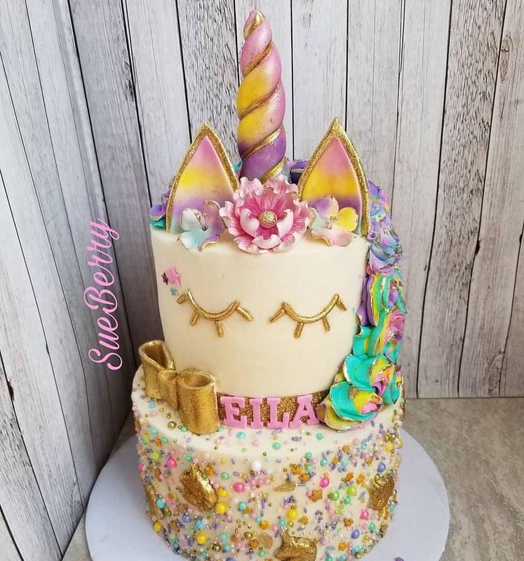 Unicorn Cake by SueBerry
