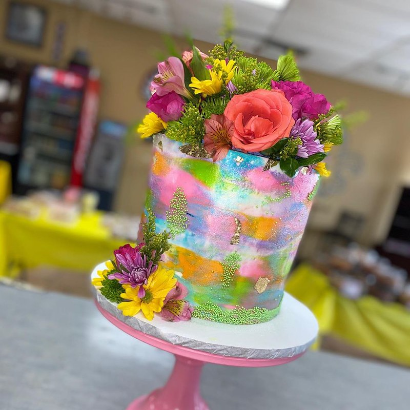 Cake by Adrians Bakery