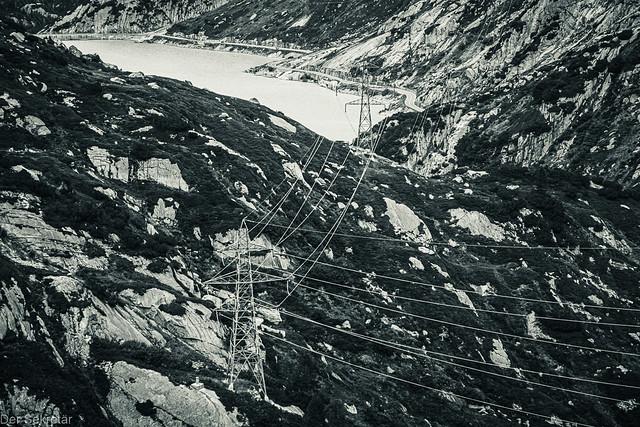Natur und Freileitung --- Nature and overhead line