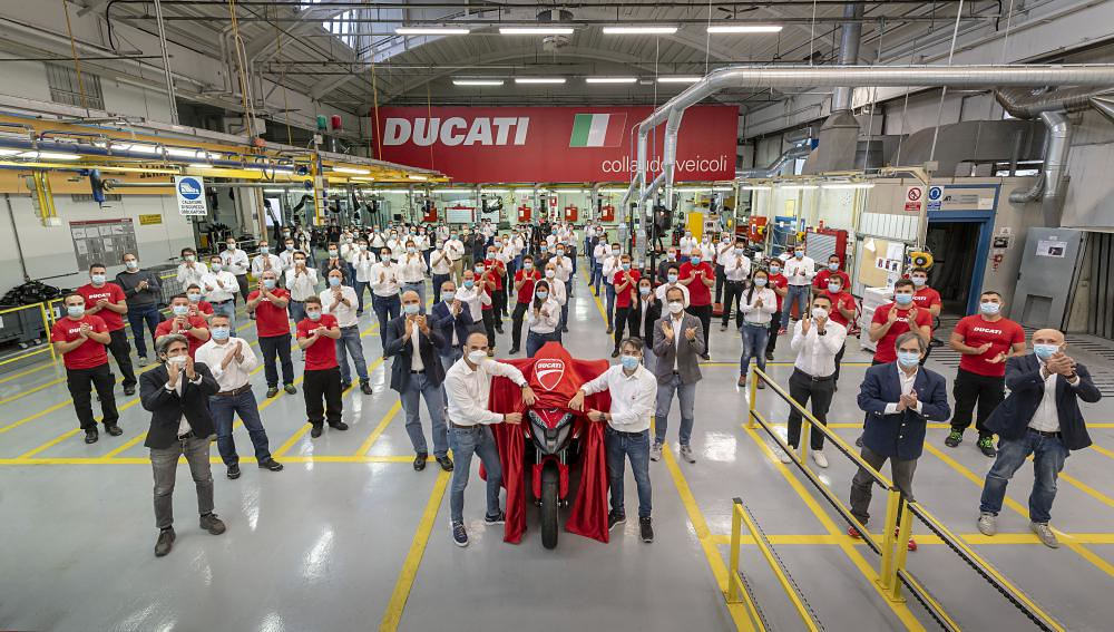 Ducati Multistrada V4 Mass Production