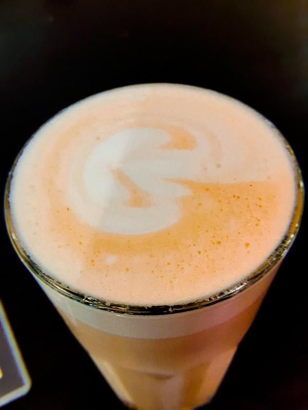 Café Latte en Caffe Rosario.