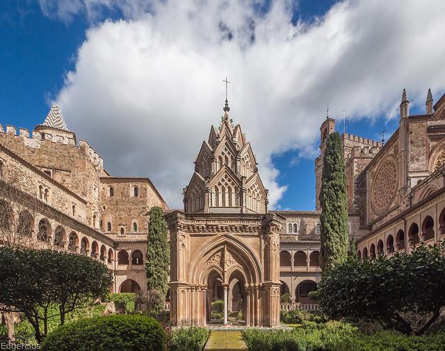 Real Monasterio de Santa María de Guadalupe, Cáceres.