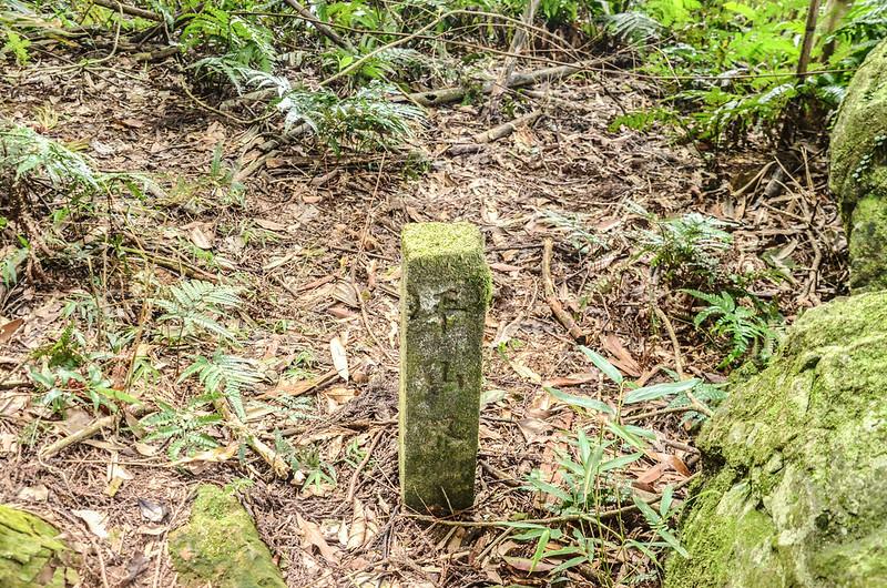 紅毛山平山界水泥柱(Elev. 954 m) (1)