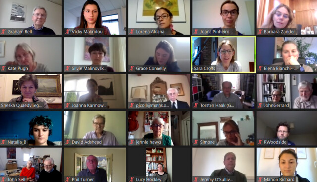 Webinar with Europa Nostra UK Members and Partners