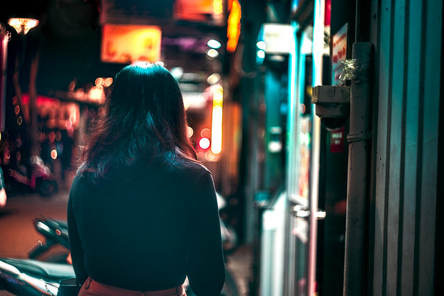 In light neon
