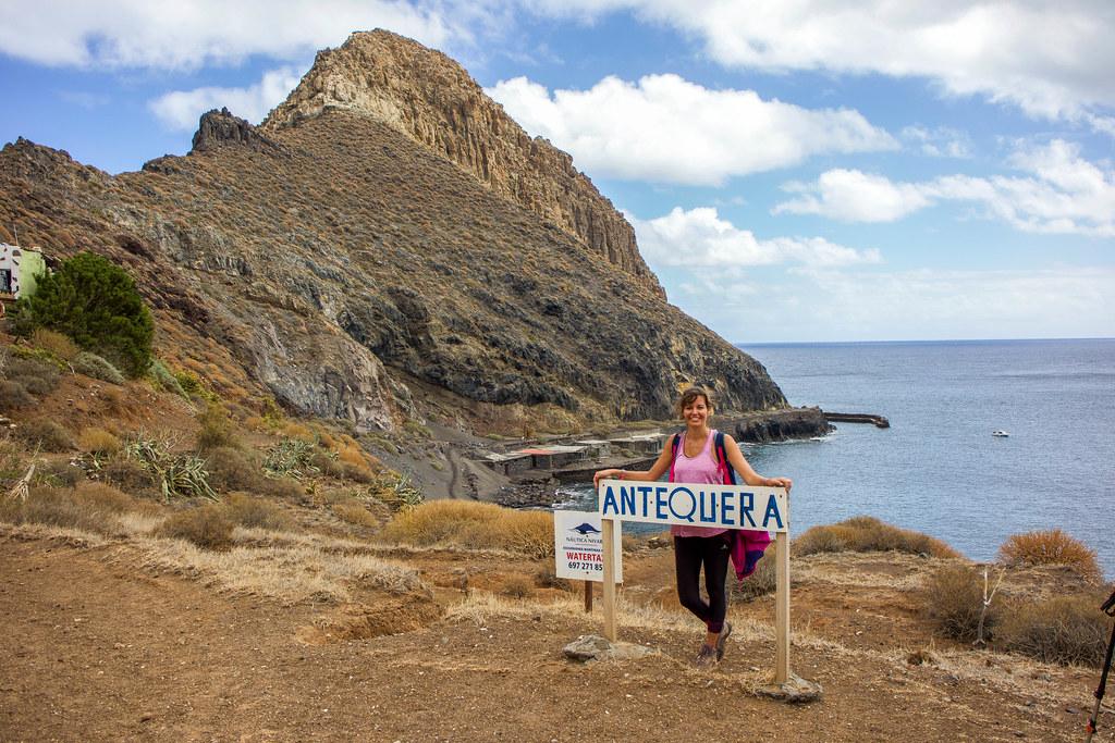 Roque de Antequera en Tenerife