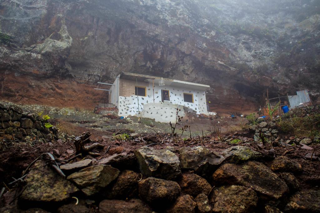 Casa construida en el macizo de Anaga