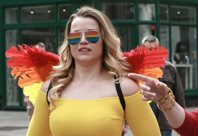 Street Angel at Dublin Pride, June, 2019