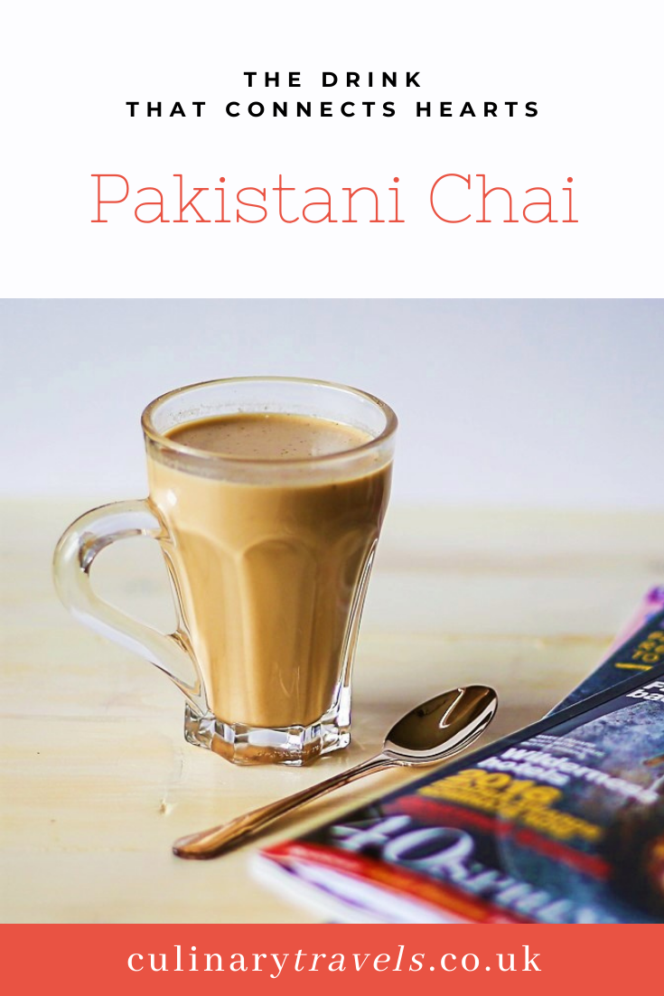 Served in small glasses from dawn until way past dusk, this chai is everywhere you look in Pakistan. It's in little make-shift cafes, sold from chai-wallahs at every bus station, train station and street corner, and of course, it is brewing in every home. Chai is something which brings family, friends and even strangers together. It's so much more than a drink it's a staple of every breakfast, conversation and catch up. Its presence may never be valued as much as it should be but its absence is always felt. So why not try something new and see where your taste buds will take you.