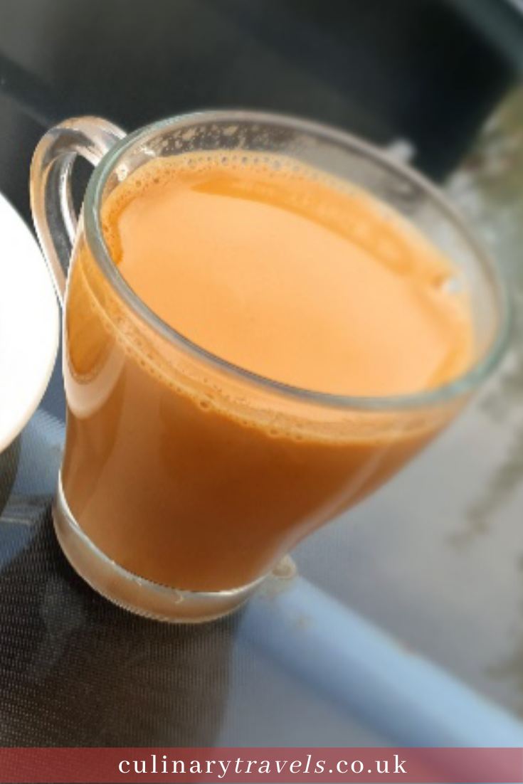 Served in small glasses from dawn until way past dusk, this chai is everywhere you look in Pakistan. It's in little make-shift cafes, sold from chai-wallahs at every bus station, train station and street corner, and of course, it is brewing in every home.