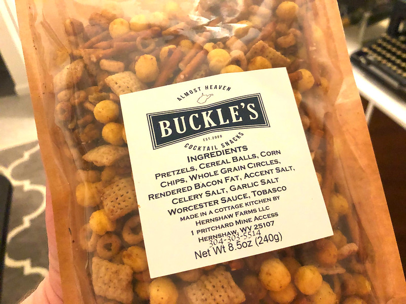 Buckles Cocktail Snacks