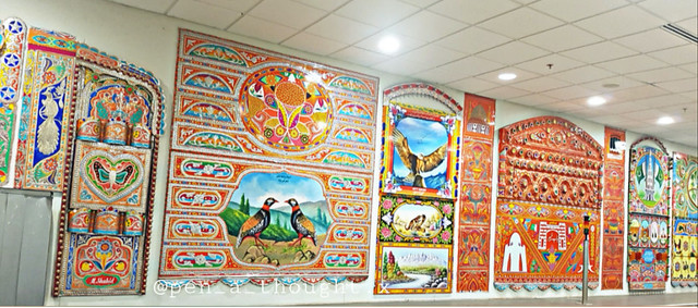 Beautiful art works in Pakistan