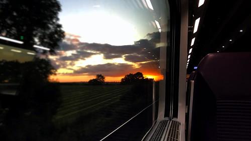 ireland ulster sunrise enterprise interior dedietrich carriage coach dd moira view ni northern railway