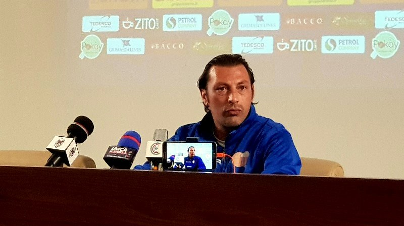 Mister Raffaele oggi in sala stampa