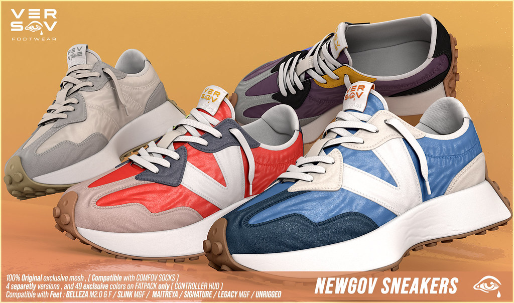 [ Versov // ] NEWGOV sneakers available at TMD