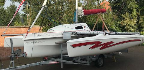 Astus 20.2S Trimaran Day Boat for Sale