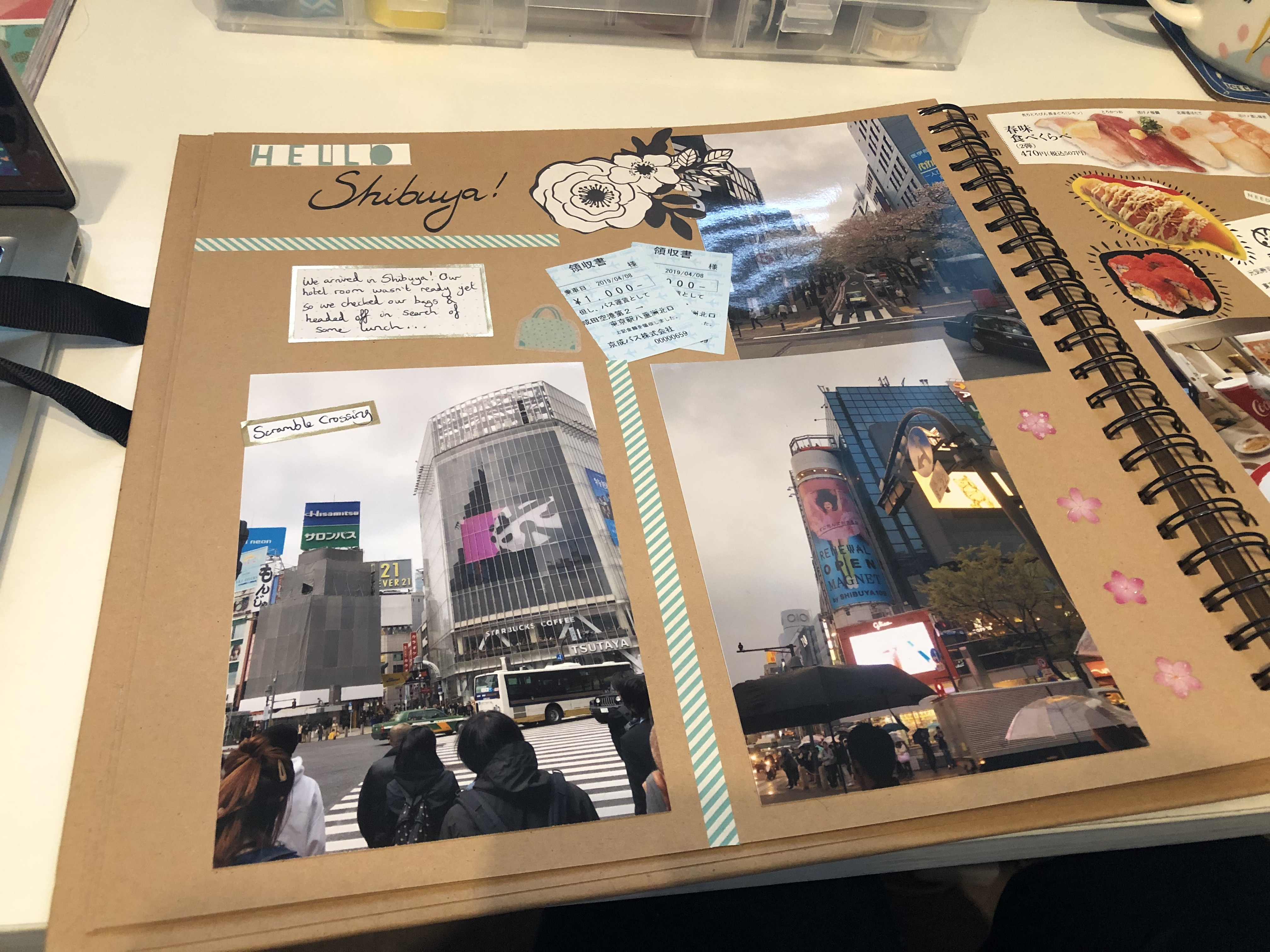 Japan scrapbook shibuya