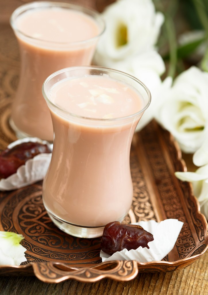 Pink Kashmiri Chai is traditionally served at weddings. Isn't it pretty? So easy to make at home too