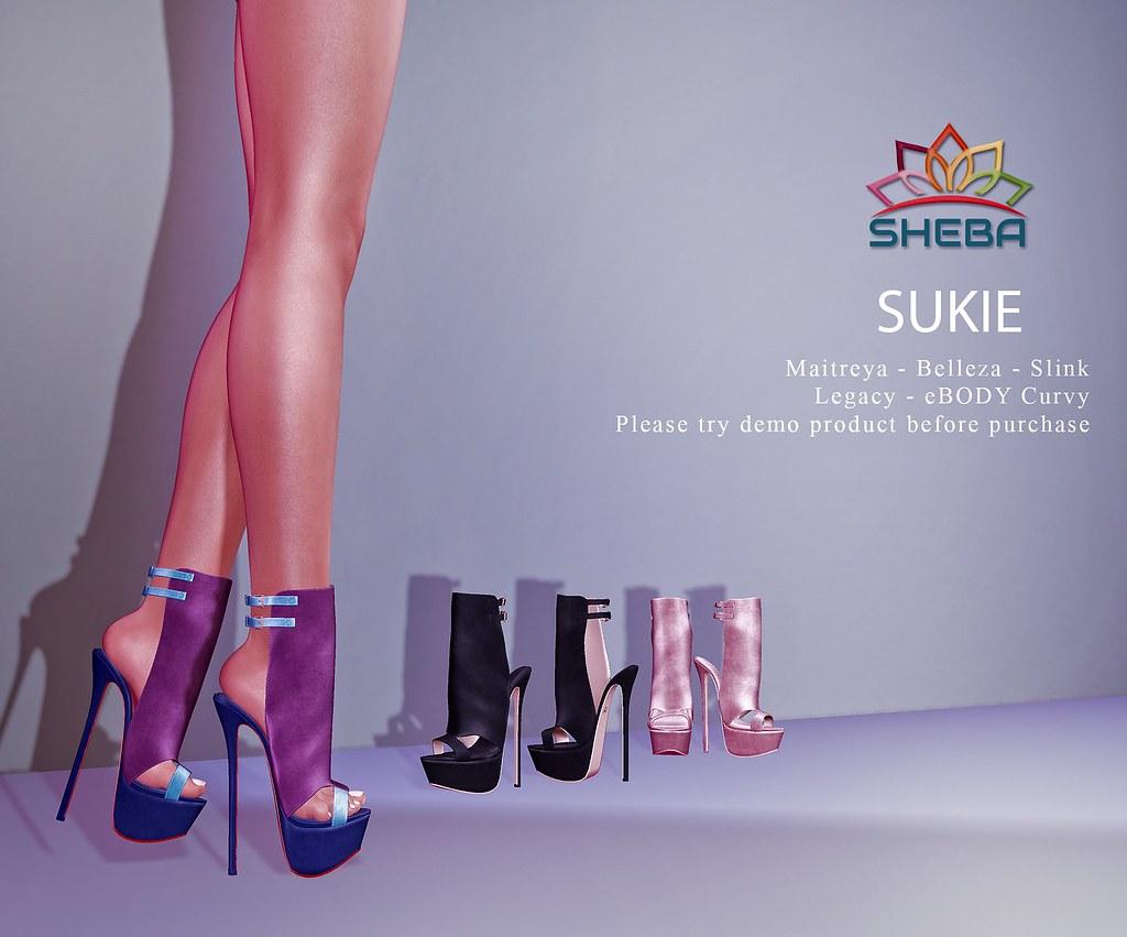 [Sheba] Sukie Heels @Cosmopolitan Event