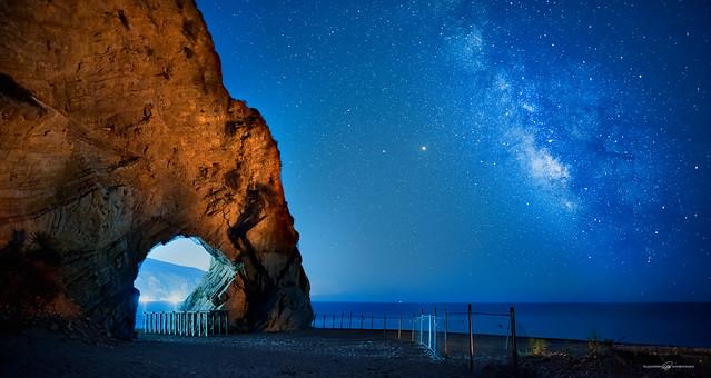 Via Lattea su Arco del Mingardo