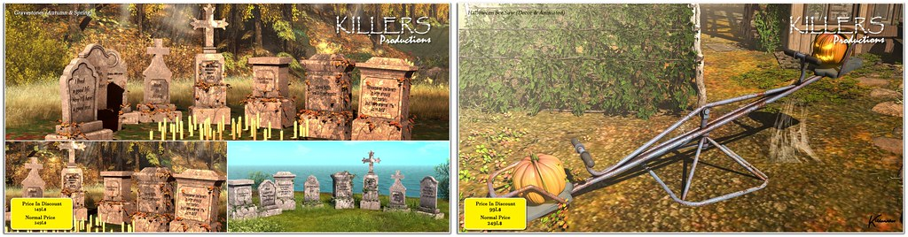 """Killer's"" Halloween Products on Sale @ Cosmo & Inworld store"