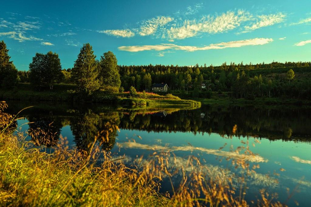 Evening in Sälen