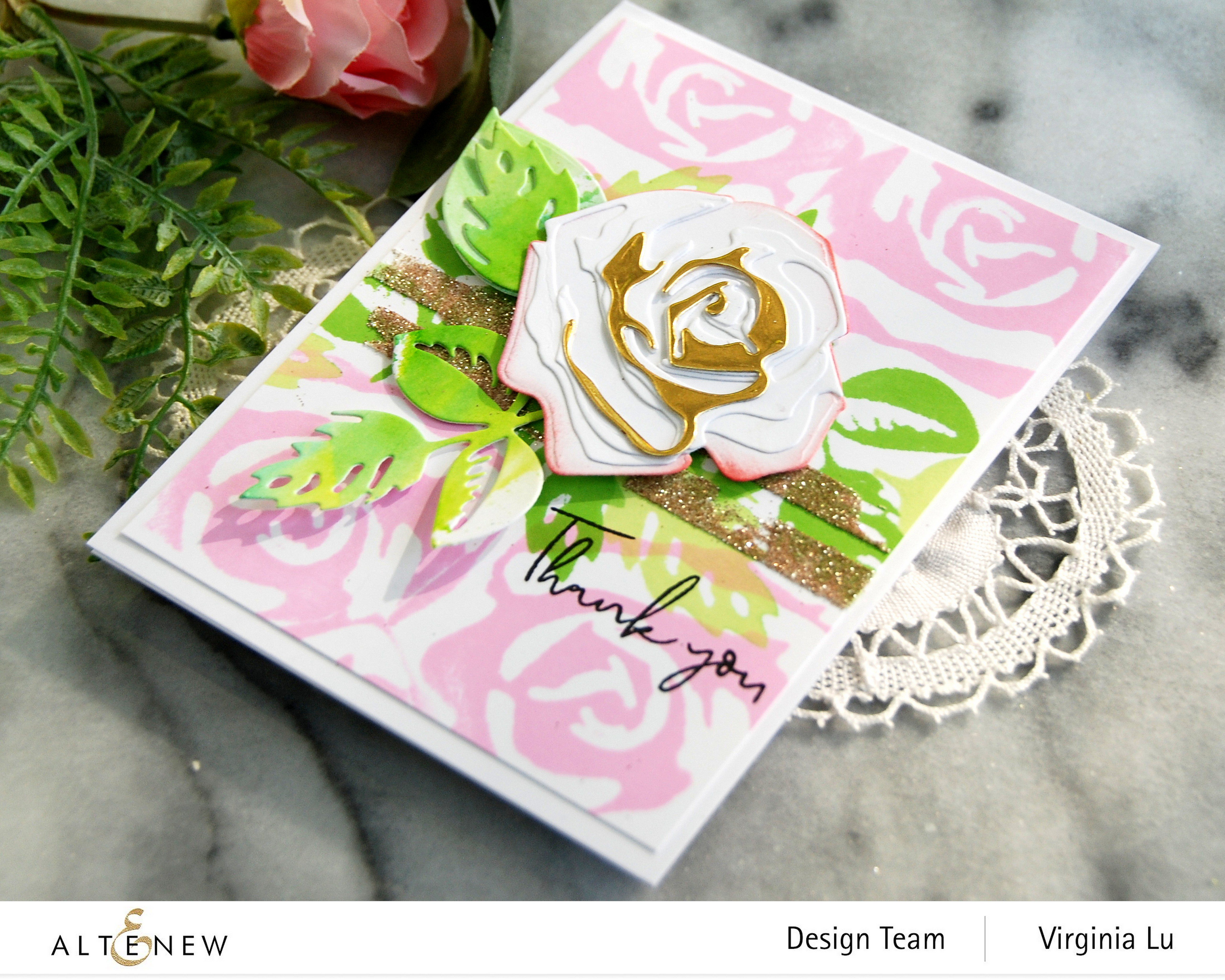 Altenew-Craft-a-FlowerRose-Stripe Stencil-PAF-CallaLily-EmbossingPaste-002