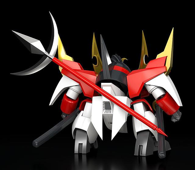 野牛武一郎流火炎X字斬!PLAMAX《魔神英雄傳》MS-10 戰王丸
