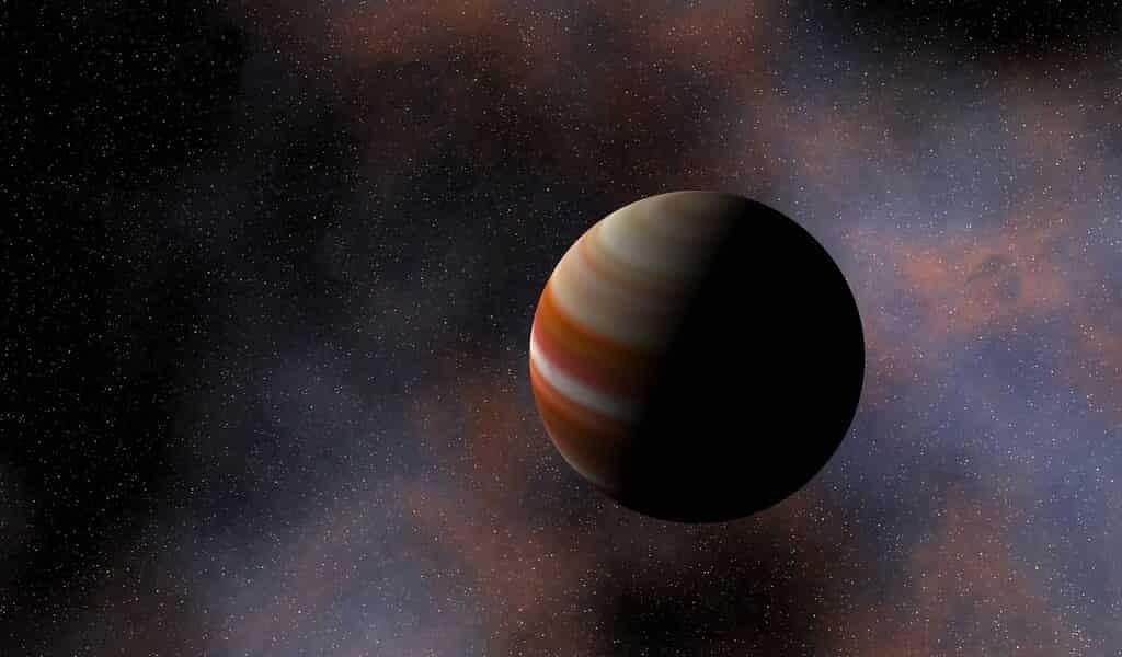 Une planète erre dans la galaxie sans étoile