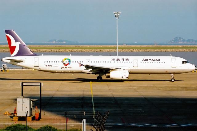 Air Macau | Airbus A321-200 | B-MAJ | Macau International
