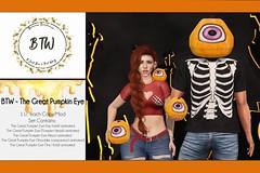 BTW - The Great Pumpkin Eye