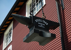 Steel Toad Brewpub in Vancouver; the historic building now taken over by Tap & Barrel