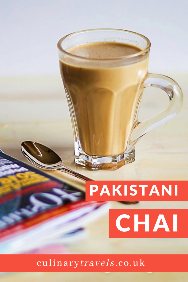 Chai is a warm beverage which is mainly found within Pakistan and India. Consisting of water, loose tea, spices, milk and sugar this is a drink which is used to spark conversations, keep you warm on a cold day or to finish of wedding celebrations.