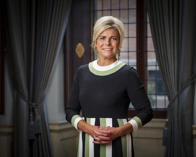 Nieuwe officiële foto Prins Constantijn en Prinses Laurentien der Nederlanden (2020)