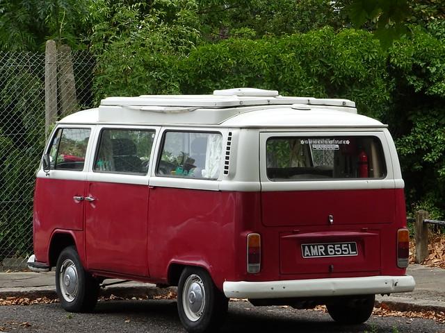 1972 Volkswagen Transporter T2 Camper Van