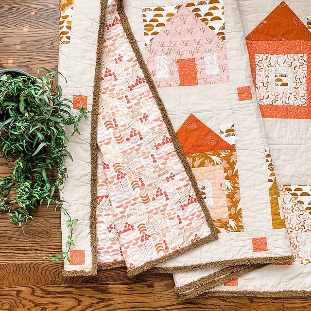 Sweet Home Quilt by Sharon Holland