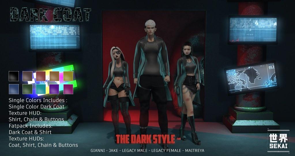+SEKAI+ Dark Coat – The Dark Style Fair