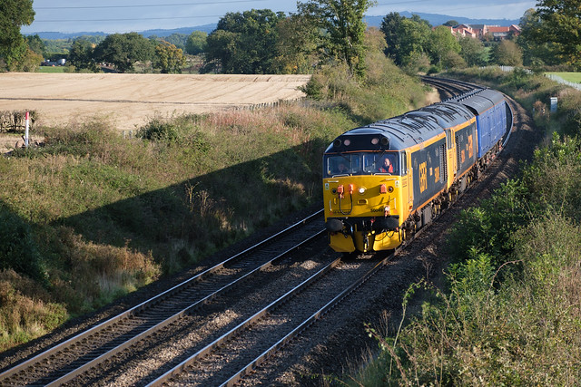 50 049 and 50 007 heaing to Worcester