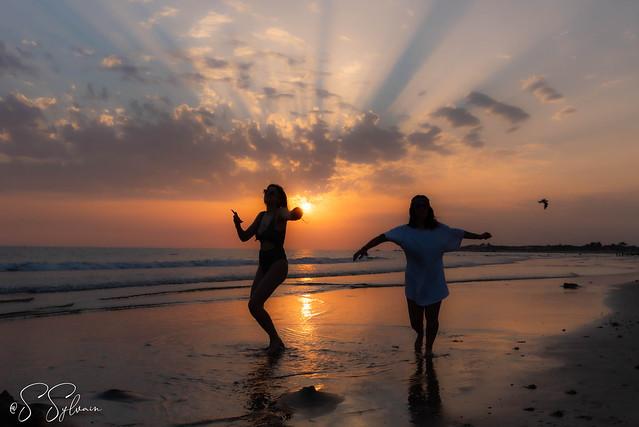 Danse sous le soleil