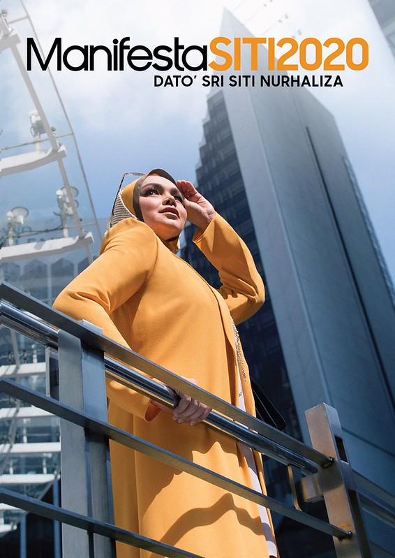 Album Fizikal MANIFESTASITI2020 Siti Nurhaliza Terima Anugerah Emas