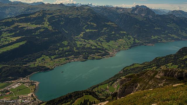 View of Walensee Chäserrugg .)2008/66118