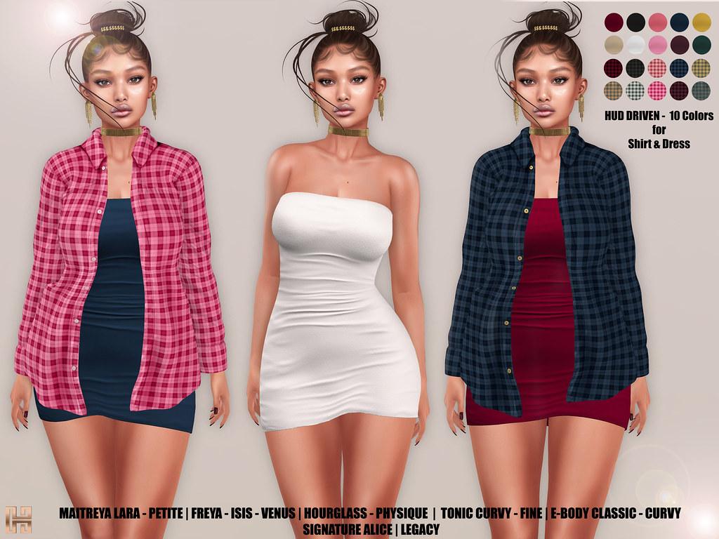 Hilly Haalan – Jody Shirt and Dress Set