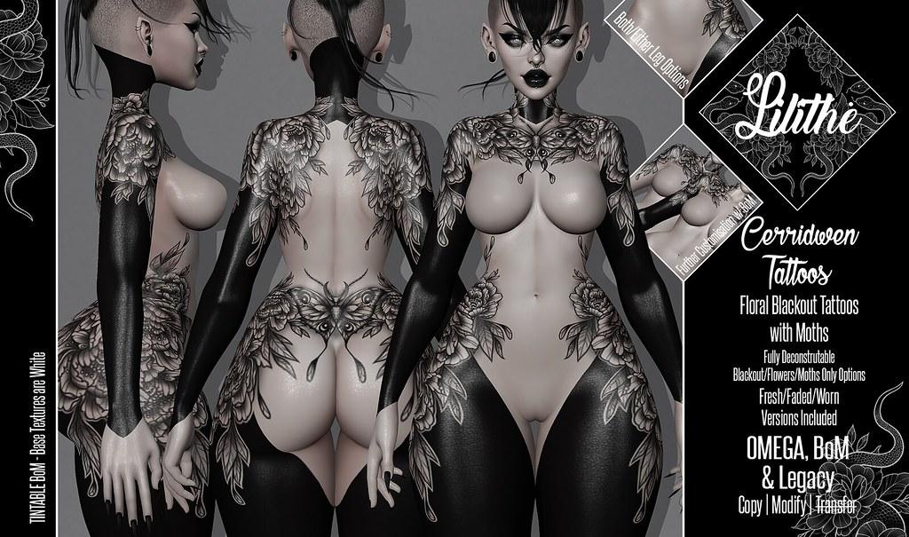 Lilithe'// Cerridwen Tattoos @ SAMHAIN