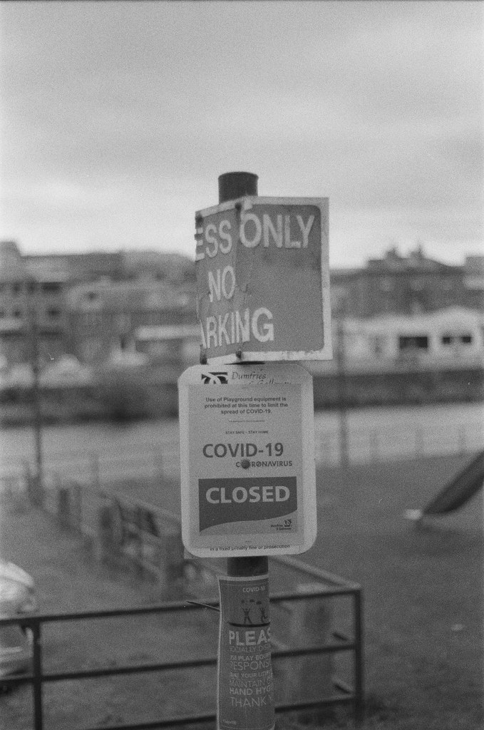 2020 Signage- August 2020. Canon EOS 1000F with Yongnuo YN50mm F1.8 and Agfaphoto APX400.