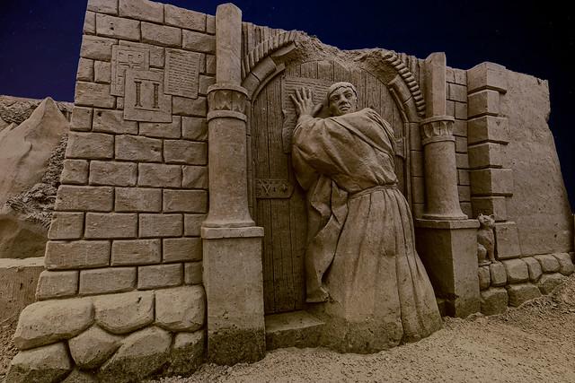Sandskulpturen-Festival in Binz auf Rügen 2019