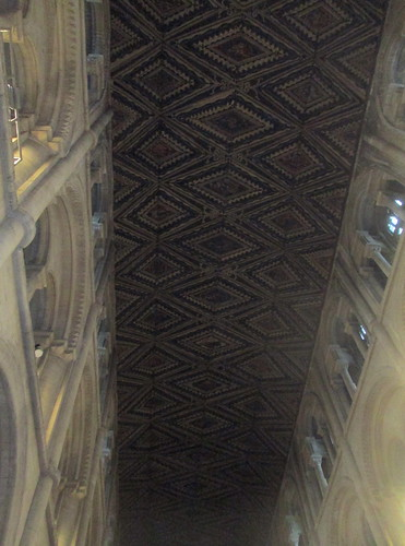 Wood vaulting, Peterborough Cathedral