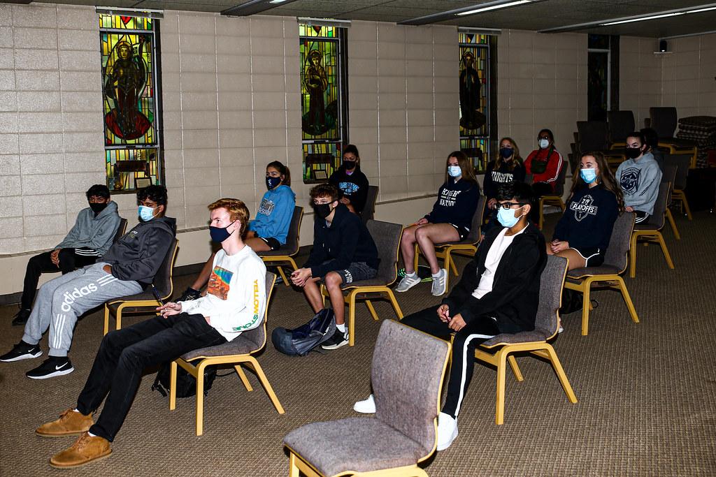 ICCP Junior Retreat at LaSalle Manor, Day 1