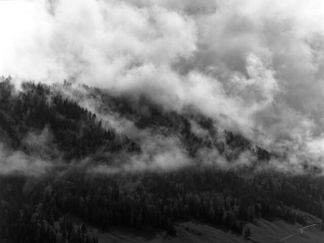 Mysterious Mountain  (MF Tmax 100)