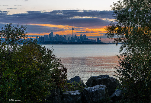 City sunrise view from Etobicoke | by Phil Marion (184 million views - THANKS)
