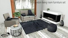 @home: London living room furniture set